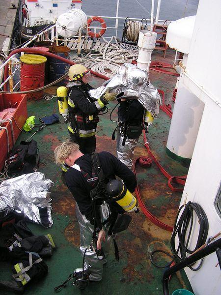 Vježba na brodu