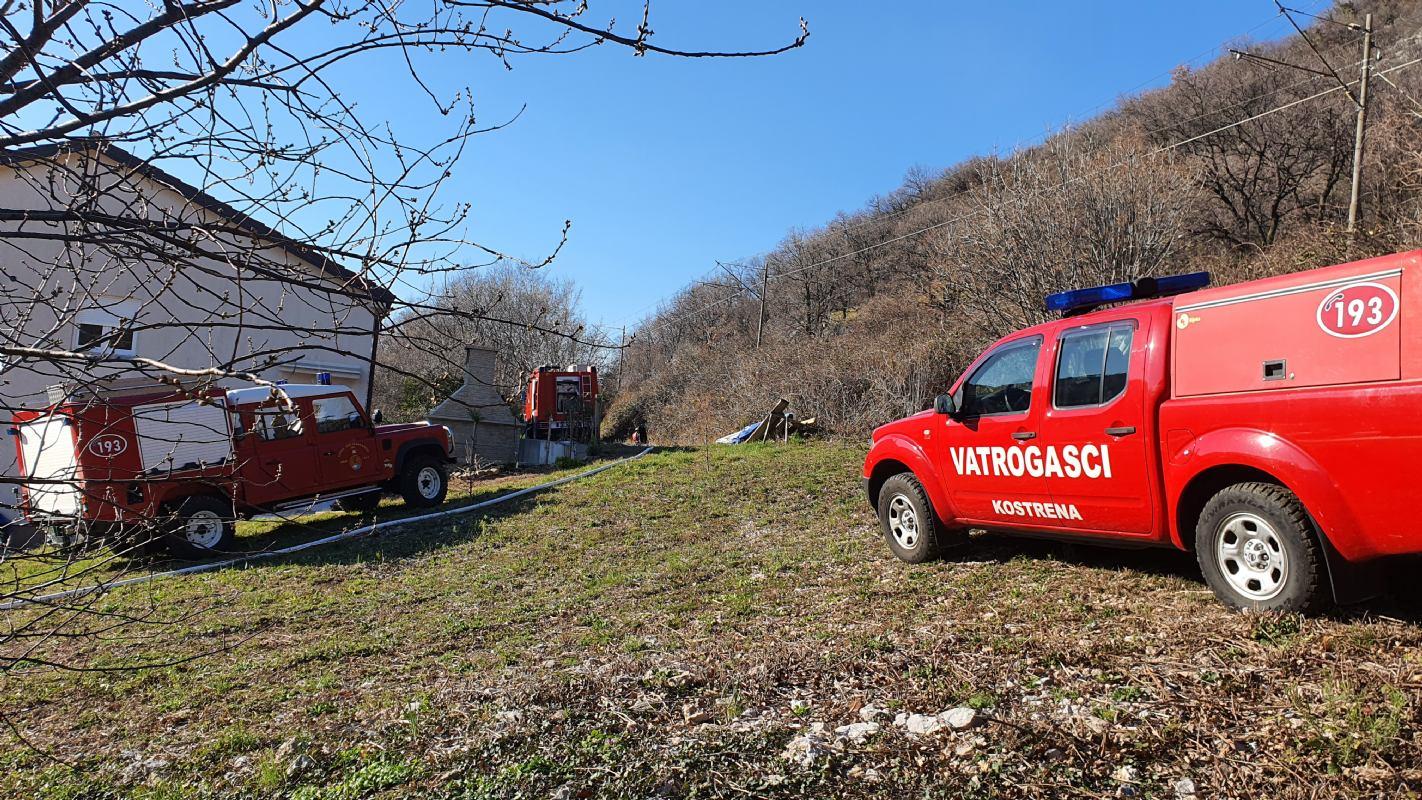 Požar u Sušačkoj dragi 06.03.2021.